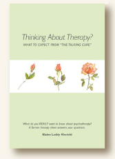 Thinking About Therapy cover image